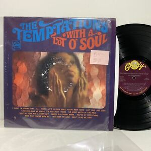 The Temptations With A Lot O Soul Gordy 922 Vg Vg Soul
