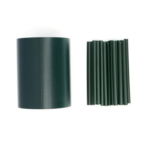 PVC Sichtschutzstreifen Sichtschutz Zaunblende Doppelstabmatten Gitterzaun 35m
