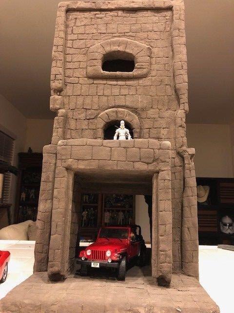 Tower play set Diorama G.I.Joe 3 3 4 1  18 scale castle drougenoks cobra playset  magasin en ligne