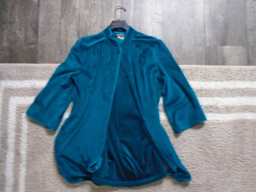 Vintage DeWeese Designs Velour Suit Ladies Medium