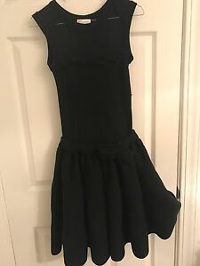 a258ecc72bfc6 Image is loading Womens-Red-Valentino-dress-black-with-bow-size-