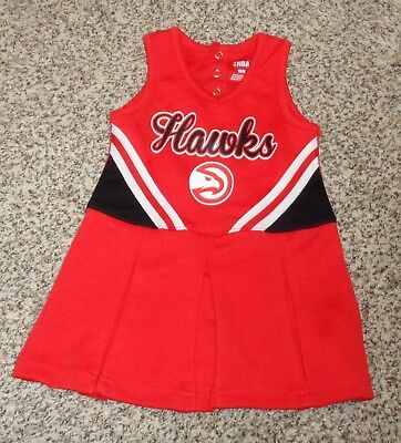 NEW Baby Girls Los Angeles Clippers Cheerleader Dress Girls 18M 18 Mo Cheerl