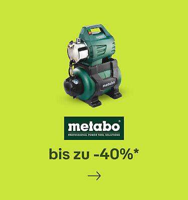 Metabo bis zu -40%*