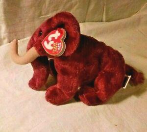 """Colosso"" Elephant Ty Beanie Baby 2002"