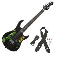 Peavey Rockmaster Full Size Marvel Hulk Maple Neck 21 Fret Electric Guitar New