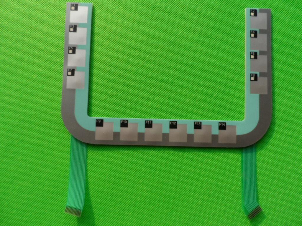 New  Siemens  6AV6645-0AB01-0AX0  button membrane