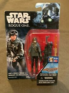 Star Wars Rogue One Sergeant Jyn Erso EASU Action Figure NEW MIP