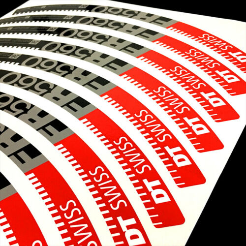 DT SWISS FR560 Wheel Rim Stickers for MTB Bike Mountain Bicycle Cycling Decals
