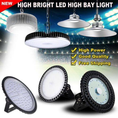 UFO LED High Bay Light 500W 300W 200W 100W Watt Warehouse Led Shop Light Fixture