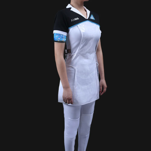 Become Human KARA Code AX400 Agent Outfit Dress Cosplay Costume Detroit