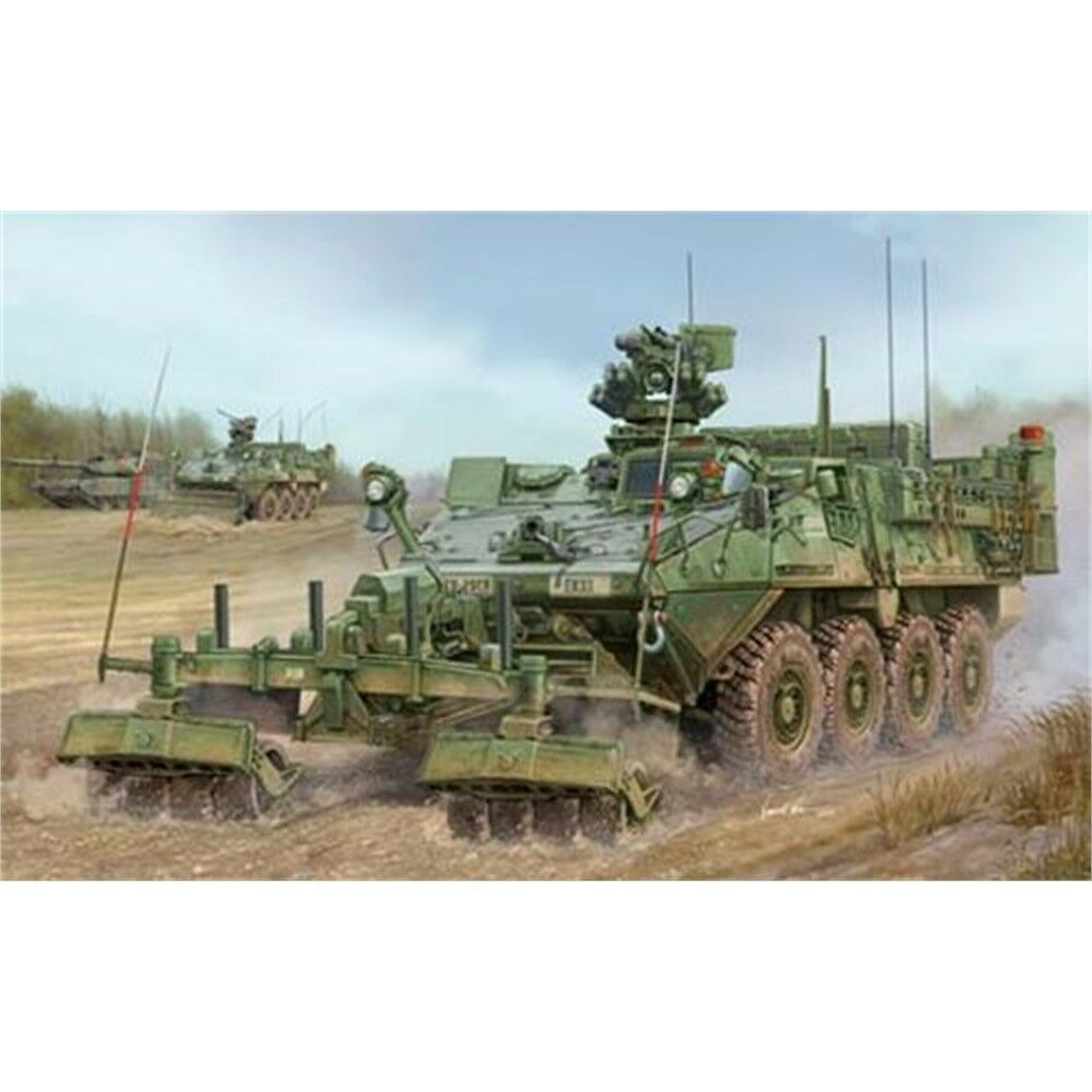 Trumpeter 1 35 - M1132 Stryker Engineer Squad Vehicle With Lwmr-mine Roller -