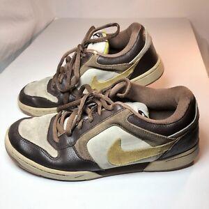 3bec68b11cf2 Nike Skeet Skate 324957-271 Size 10 US Grunge Brown Yellow