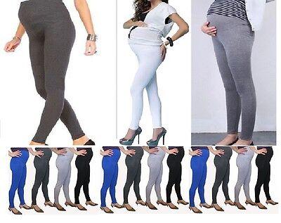 Womens Ladies Full Length Maternity Leggings Nursing Wear Pregnancy Warm Mtrlgs