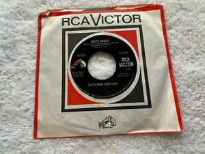 "RCA  Jefferson Airplane - White Rabbit / Plastic Fantastic Lover - USA 7"" 45rpm"