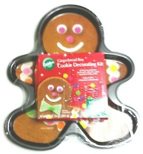 image is loading wilton gingerbread boy cookie decorating kit christmas new