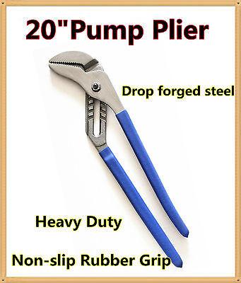 """20"""" (500mm)Multi Grip Groove Joint Water Pump Plier Water Pipe Plier Multgrip"""