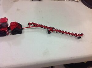 1/64 custom Red 16 bottom on-land plow by C&D