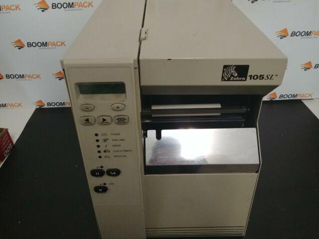 Zebra 105SLPlus Thermal Transfer Printer Monochrome Desktop Label Print 102-801-00000