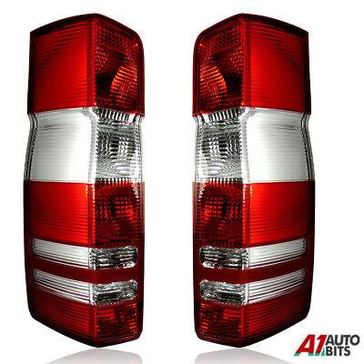 1 pair x FOR Mercedes Sprinter Van 2003-2006 /& Right Rear Tail Light Lamp Lens.