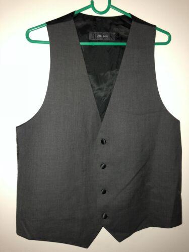 Black By Vera Wang Men/'s Vest for Tuxedo Prom Or Wedding NWOT