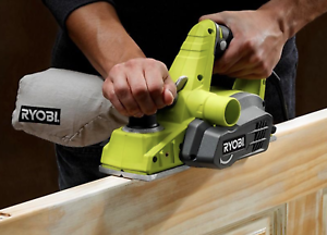 6 Amp Hand Planer Corded Electric Woodworking Power Tool Compact Ryobi 3 1//4 In
