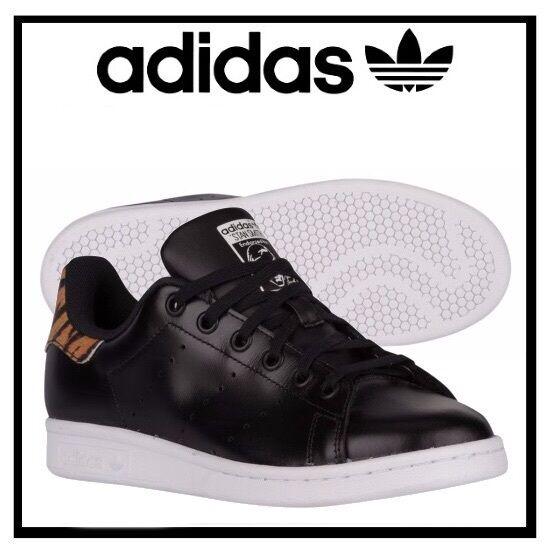 Juniors Women Girls Trainer AQ296 Adidas Stan Smith GS Tiger trainers UK 5 1//2