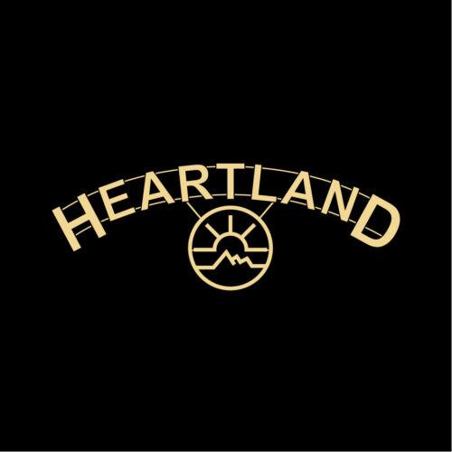HEARTLAND Ranch T-Shirt Amber Marshall Graham Wardle Screen-Printed All Sizes