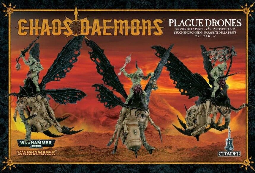 Warhammer Age of Sigmar Plague Drones Brand New Free Shipping