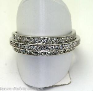 OR-BLANC-18-carats-BAGUE-HAUTE-JOAILLERIE-PAVAGE-DIAMANTS
