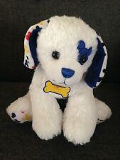 "Build a Bear Downtown Disney White Puppy Dog Mickey Mouse Eye Logo 2012 13"""
