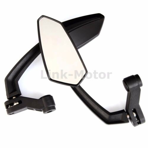 Crusiers Touring 8mm//10mm thread Choppers Bikes Mirrors For motorcycles