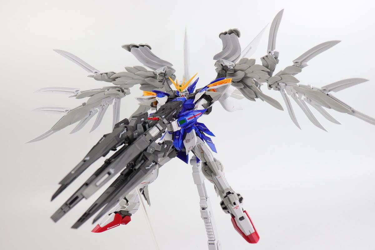 MX -modellllerl (Super Nova) 1  100 MG FIX - stil XXG -00W0 vinge Gundam Zero