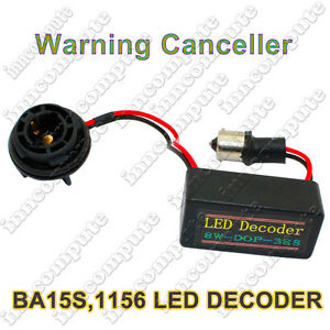 BA15S-P21W-1156-LED-CANBUS-CAN-BUS-ERROR-LOAD-RESISTOR-FIX-OBC-DECODER