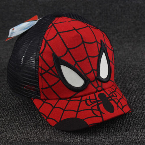Kids Boys Girls Mickey Baseball Cap Children Adjustable Superhero Snapback Hat