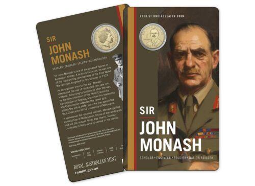 Sir John Monash $1 Coin 2018 Royal Australian Mint