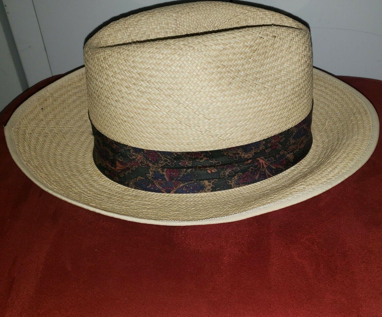Vintage Kangol XL Straw Summer Hat - image 4