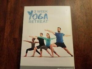 3 week yoga retreat dvd setbeachbody 2016 3 disc