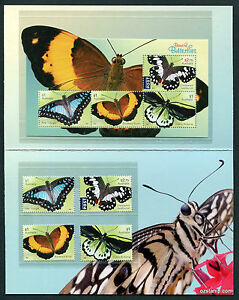 2016-Beautiful-Butterflies-Post-Office-Pack-Australia-Mint-Minisheet-Stamps