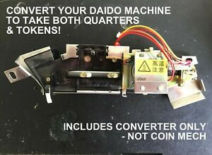 ACCEPTS BOTH QUARTERS /& TOKENS $.25 CONVERTER FOR YAMASA PACHISLO SLOT MACHINES