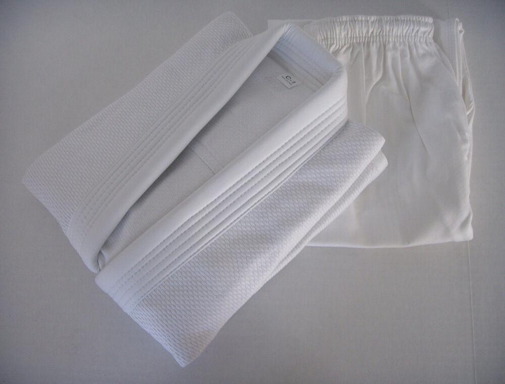 Jiu Jitsu Gi for  Kids   Youth BJJ Uniform - WHITE Brazilian JJT  FREE SHIPPING   fishional store for sale