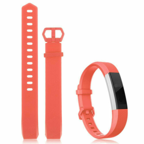 Fitbit Alta HR Authentic Replacement Band Made by Fitbit Orange Small