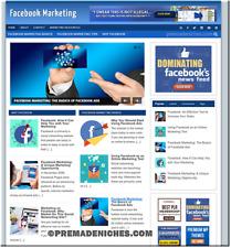 Facebook Marketing Niche Blog Website Work From Home Business Opportunity