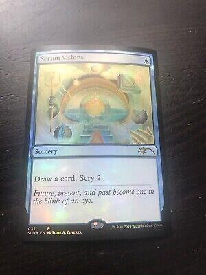 Secret Lair Serum Visions MTGO Magic Online redemption code X1 Magic cards MTG