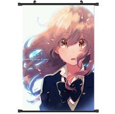 "Hot Anime A Silent Voice Koe no Katachi Home Decor Poster Wall Scroll 8/""×12/"" 01"