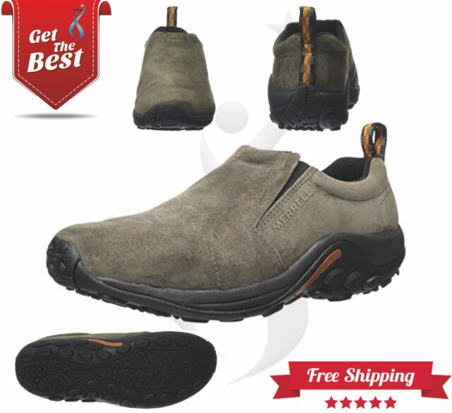 9b04dfe860e Merrell J60787w Jungle MOC Slip on Shoes Mens Gunsmoke Wide 9 | eBay