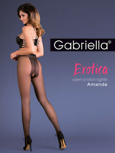 Erotic-Crotchless-Tights-Gabriella-Amanda-Erotic-Open-Crotch-Sexy-Patterned