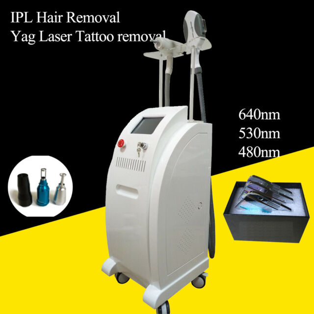 Professional Ipl Elight Laser Hair Removal Skin Tighten Salon Use