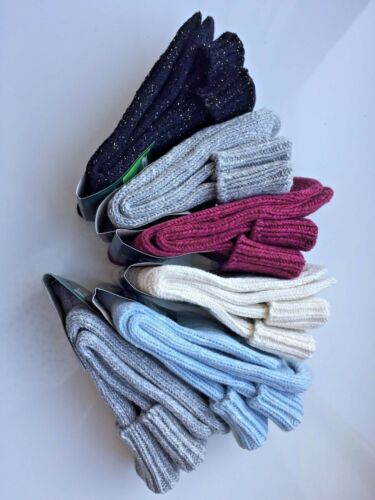 *6 PAIRS LADIES WOMEN WOOL HIGH QUALITY CHUNKY THERMAL SOCKS BOOT SIZE 4-7 STNBL