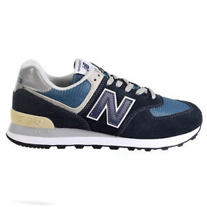 new balance 574 uomo blu scuro