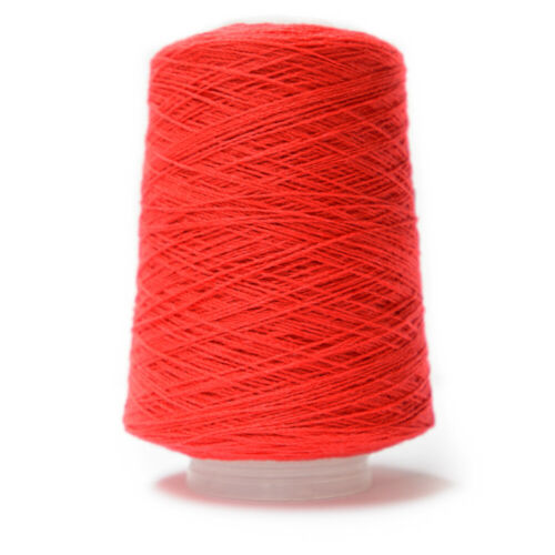 200G BRIGHT RED 2//12.5NM SAXONY SOFT LAMBSWOOL YARN RED